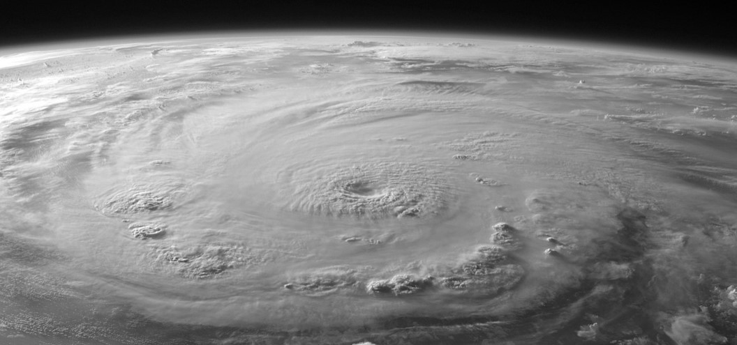 hurricane from space